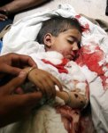 21-05-04 Blood soaked body of a minor Kashmiri girl killed i